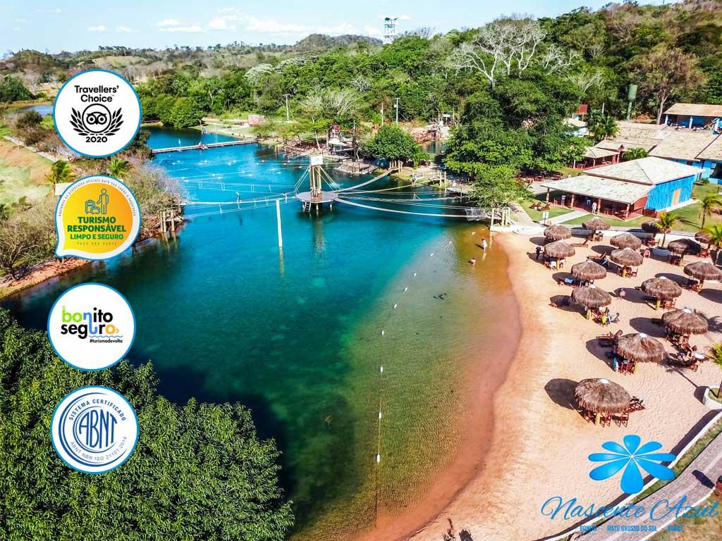 Turismo Responsável em Bonito MS - Nascente Azul